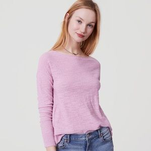 Sweater in Lilac Purple by LOFT